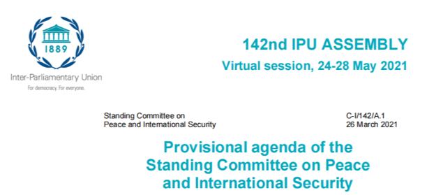Lizhong Dai, Member of the National People's Congress, attended the 142nd session of IPU and delivered a keynote speech as a representative of China.