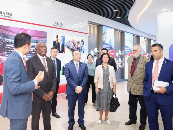 South African Ambassador to China SC Cwele visited Sansure Biotech